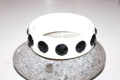 Vintage Costume Jewelry / White and Black by AntiqueAlchemyShop, $12.00