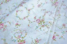 Shabby Cottage Chic Pink Floral Rose Standard Sz Pillowcases 2 Vintage Paris Apt #Unbranded #Cottage