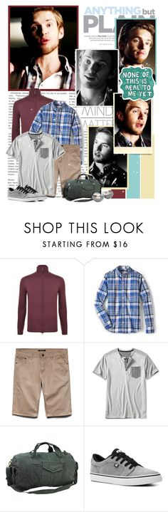 """""""Luke Parker - 5.16 """"While You Were Sleeping"""""""" by noseinanovel ❤ liked on Polyvore featuring Børn, Sharpie, DKNY, FOSSIL, 21 Men, Banana Republic, Vagabond Traveler, DC Shoes, Georg Jensen and thevampirediaries"""