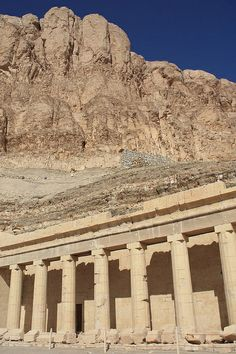·Luxor, Egypt, Hatshepsut Temple at Deir el Bahri, Thebes Ancient Egypt History, Ancient Egyptian Art, Ancient Ruins, Ancient Artifacts, Ancient Greece, Places In Egypt, Old Egypt, Ancient Civilizations, Photos Du