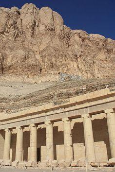 ·Luxor, Egypt, Hatshepsut Temple at Deir el Bahri, Thebes