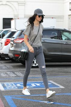 "runwayandbeauty: ""Kendall Jenner spotted walking around Los Angeles, California on October 23, 2015. """