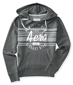 Aeropostale Women's East Coast Stripe Popover Hoodie * READ REVIEW @ http://www.passion-4fashion.com/clothing/aeropostale-womens-east-coast-stripe-popover-hoodie/?a=7151
