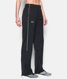 Women's UA Rival Knit Warm Up Pant, Black , zoomed image Volleyball Outfits, Cheer Outfits, Cheer Clothes, Under Armour Pants, Under Armour Women, Cheer Warm Ups, Soccer Pants, Workout Attire, Pants For Women