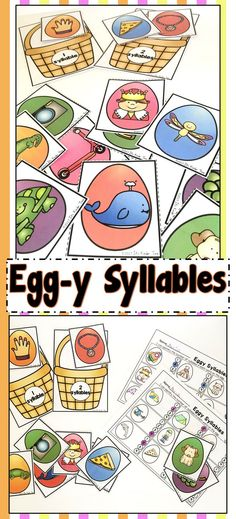 Syllable Task Cards - VCV pattern and Final Stable Syllables ...