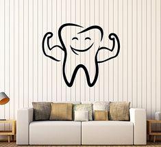 Vinyl Wall Decal Funny Tooth Smile Dentist Stomatology De... https://www.amazon.com/dp/B077NNGSQL/ref=cm_sw_r_pi_dp_x_df0fAbF1SYPVQ