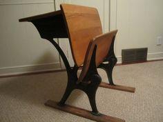 54 best old students desks images on pinterest old school desks rh pinterest com antique student desk collectors antique student desk chair