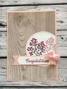 Beautiful Bouquet stamp set & Wood Textures DSP, Bitty Bows, Dragonfly Dreams by Kate Morgan, Independent Stampin Up Demonstrator Australia #OnStage2017