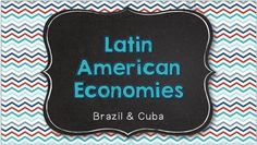 Comparing Latin American Economies -- Brazil and Cuba from Brain Wrinkles on TeachersNotebook.com -  (49 pages)  - Comparing Latin American Economies: Brazil and Cuba -- Interactive Notes and Activities