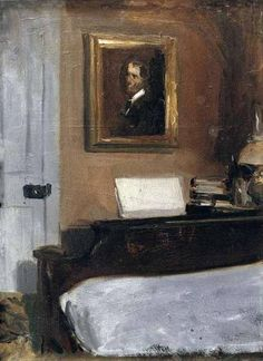 Artist's Bedroom, Nyack Edward Hopper