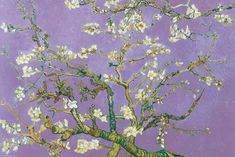 """dappledwithshadow: """" Almond Blossom Vincent van Gogh 1890 Oil on canvas Dimensions cm × 92 cm in × 36 in) *Only the blue version is by Vincent - he painted it for Theo's newborn son, also named Vincent. While the other colors are kinda. Vincent Van Gogh, Van Gogh Almond Blossom, Fine Art Posters, Impressionist Artists, Van Gogh Paintings, Van Gogh Museum, Fine Art Photo, Print Poster, Artist Painting"""