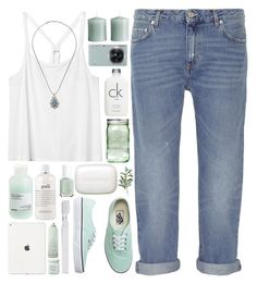 Breeze in the Bay by ladyvalkyrie on Polyvore featuring polyvore, fashion, style, Monki, Acne Studios, Vans, Topshop, Calvin Klein, philosophy, Laura Mercier, Davines, Essie, Drybar, H&M, Pier 1 Imports, Samsung, Supersmile, Ball and clothing