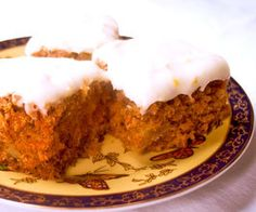 Carrot Cake With Everything + Savvy Vegetarian Traditional Holiday Recipes Easy Cake Recipes, Easy Desserts, Delicious Desserts, Dessert Recipes, Healthy Desserts, Healthy Food, Vegetarian Desserts, Vegan Sweets, Vegan Recipes