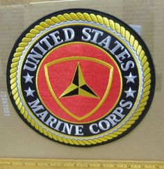 United States Marine Corps – 3rd Marine Division Embroidered Back Patch