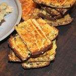 A clever way of using left over cauliflower is to make a simple dough and create these crackers, which are full of flavour and goodness. It's a great way of showcasing cauliflower. Bread Recipes, Diet Recipes, Vegetarian Recipes, Diet Meals, Following A Recipe, Gratin Dish, Exotic Food, Lactose Free, Gluten Free