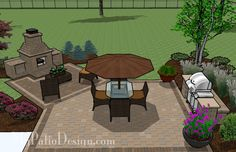 Dreamy Fireplace Patio | Outdoor Fireplaces & Fire Pits
