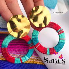 Beaded Earrings Patterns, Diy Earrings, Crochet Earrings, Boho Jewelry, Jewelry Art, Handmade Jewelry, Black And White Painting, Imitation Jewelry, Beading Projects