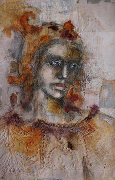 Kate Thompson, Fresco Deity on ArtStack #kate-thompson #art