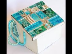 Lourdes Ortiz shared a video Ideas Para, Decoupage, Decorative Boxes, Lily, Youtube, How To Make, Crafts, Home Decor, Tutorials