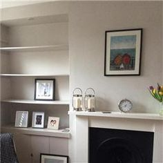 Sunroom wall in farrow and ball brassica estate emulsion Farrow and ball skimming stone living room