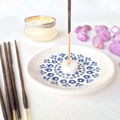 New incense holders listed today. Diy Incense Holder, Ceramic Incense Holder, Diy Clay, Clay Crafts, Ceramic Pottery, Ceramic Art, Hand Built Pottery, Clay Ornaments, Incense Sticks