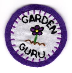Garden Guru Patch by mittenfingerz on Etsy