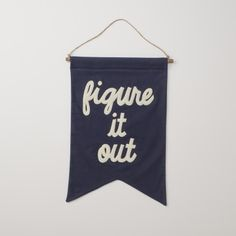 figure it out Banner | Art | Accessories