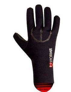 Stormr Gloves Mens Typhoon Neoprene Black RXG30N