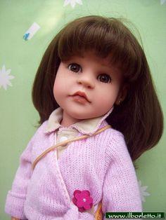 Bambola Steiff prodotta dalla Gotz