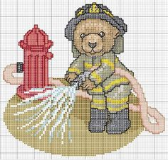 Osito bombero