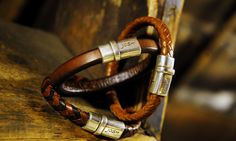 leather bracelets by Josh Accesories