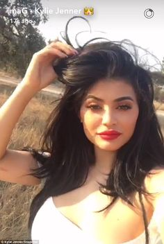 Kylie Jenner shows off her cleavage in skimpy crop top on photo shoot