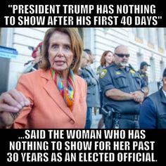 Libtards! And Nancy Pelosi.