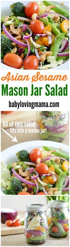 Asian Sesame Mason J