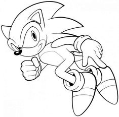 44 Best Sonic The Hedgehog Coloring Pages Images Coloring Pages