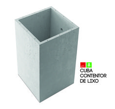 Cuba Contentor de Lixo Vat for Garbage Container  #acl #acimenteiradolouro #eco #ecologic #green