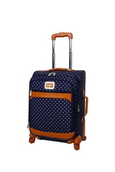 """Socialite Navy 20"""" Carry-On Expandable Spinner Upright by Jessica Simpson on @HauteLook"""