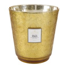 Voluspa - LARGE CANDLE 3.5kg!! - Japonica Hearth Candle - 3.5kg - Baltic Amber  #VOLUSPA #CANDLES #LARGECANDLES Scented Candles, Candle Jars, Vanilla Orchid, Large Candles, Glass Holders, Amber Glass, Baltic Amber, Hearth, Fireplaces