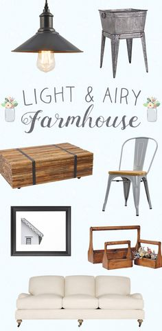 Light & Airy Farmhouse: Nestled in a field of green grass and yellow flowers, the picturesque farmhouse welcomes you .Bringing together all of the best parts of farmhouse living, while keeping everything airy and minimal, this house feels spacious yet unassuming—everything we look for in a country home. Shop Now at dotandbo.com!