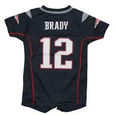 Newborn Tom Brady Romper-Navy  #Patriots