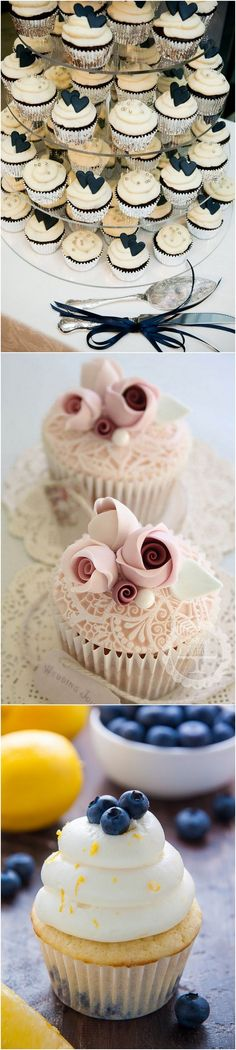 Creative wedding cupcakes