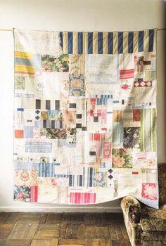 Low Volume Quilt, Modern Quilting Designs, Quilt Modernen, Contemporary Quilts, Scrappy Quilts, Quilt Tutorials, Vintage Quilts, Fabric Art, Quilt Making