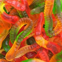Gummy worms often have non-vegan ingredients in them, learn how to make them cruelty-free.