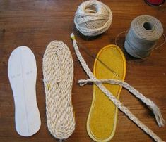 Of Dreams and Seams: DIY Tutorial: Making Soles for House Shoes These would mak. - - Of Dreams and Seams: DIY Tutorial: Making Soles for House Shoes These would make great espadrille wedges! Of Dreams and Seams: DIY Tutorial: Making S. Crochet Sandals, Crochet Shoes, Crochet Slippers, Sock Shoes, Shoe Boots, Shoe Pattern, How To Make Shoes, Diy Clothes, Diy Tutorial