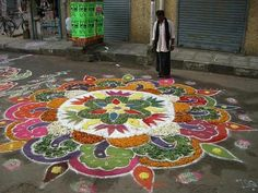 Colorful Rangoli!!
