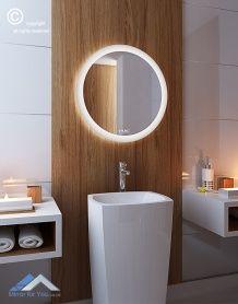 316 Best Illuminated Backlit Led Round Bathroom Mirror Led