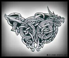 celtic dragon by roblfc1892 on DeviantArt