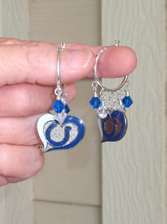 Indianapolis Colts Inspired Love and Luck in Indy by scbeachbling, $19.00