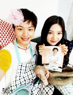 Sungjae and Joy Wgm Couples, Kpop Couples, Cute Couples, Yook Sungjae, Btob, Sungjae And Joy, We Get Married, Red Velvet Joy, Park Sooyoung