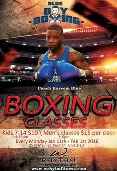 Kareem Blue BOXING!